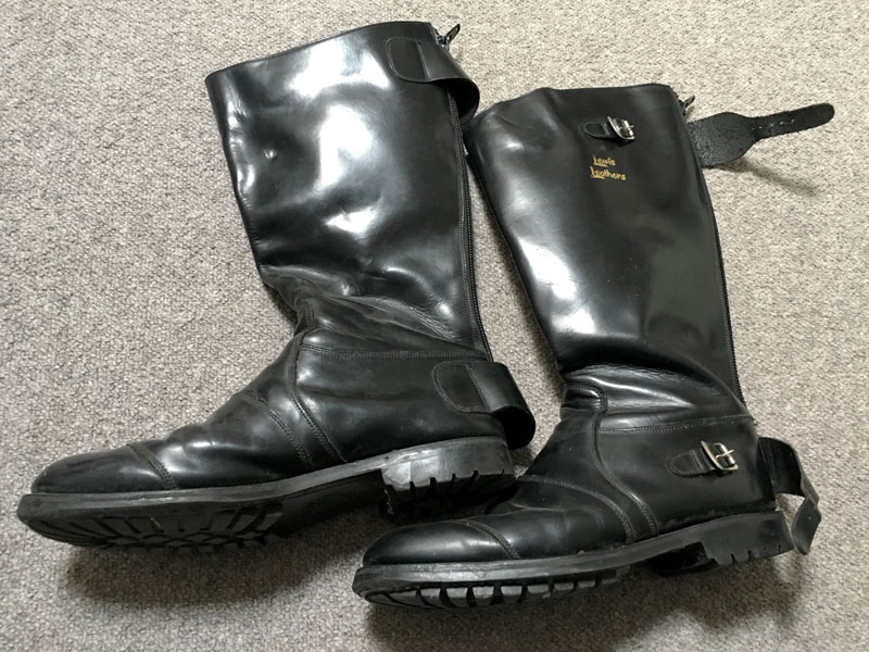 Lot 5-Lewis Leathers Motorcycle Boots
