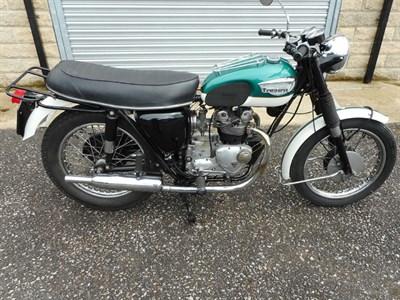 Lot 16 - 1965 Triumph T100SS Tiger