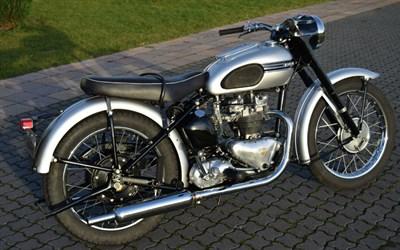 Lot 80 - 1953 Triumph T100 Tiger