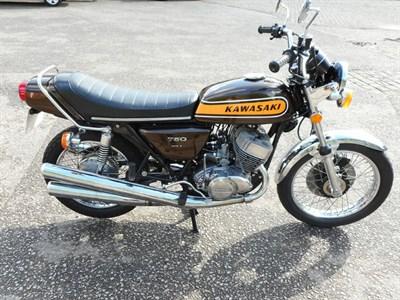 Lot 87 - 1974 Kawasaki H2B Mach IV