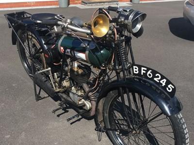 Lot 46 - 1924 BSA Model B 'Round Tank'