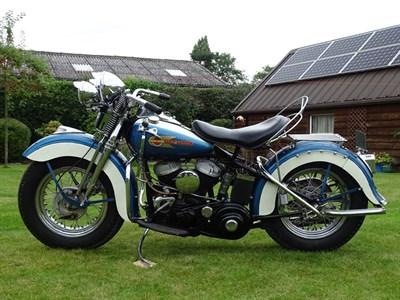 Lot 34 - 1942 Harley Davidson WLA