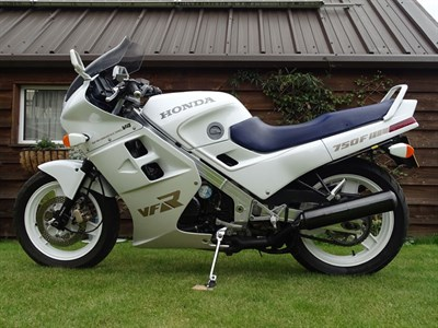 Lot 71 - 1987 Honda VFR750F