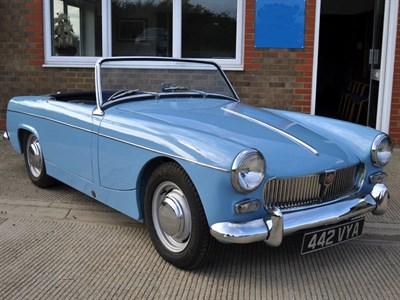 Lot 32-1963 MG Midget 1100
