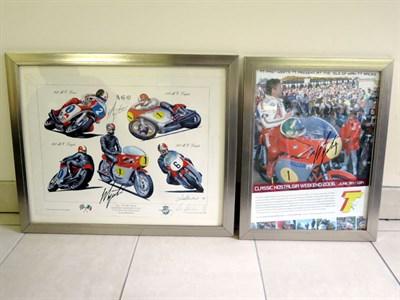 Lot 15-Giacomo Agostini Print & Poster