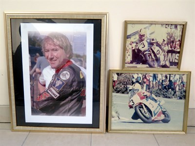 Lot 16-Joey Dunlop Photographs