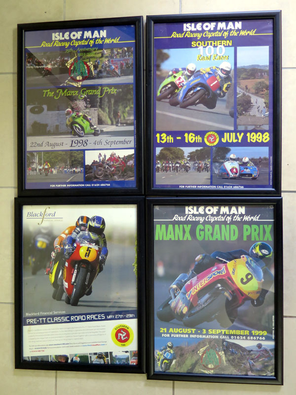 Lot 17-Various Isle of Man Race Posters