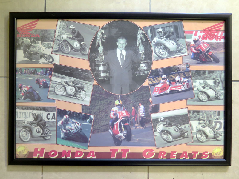 Lot 21 - Mike Hailwood Prints & Posters