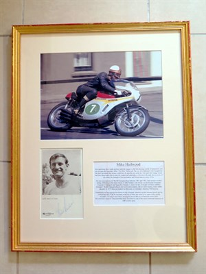 Lot 22-Mike Hailwood / Honda Six Signed Presentation