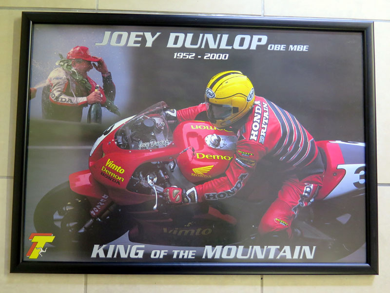 Lot 23-Joey Dunlop Posters & Photo