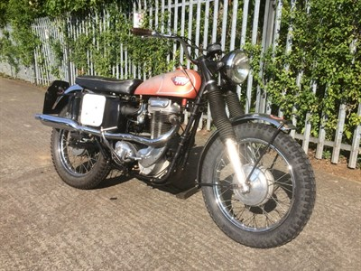 Lot 64 - 1967 Matchless G80CS