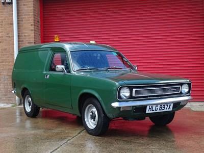 Lot 10-1982 Morris Marina 575 Van