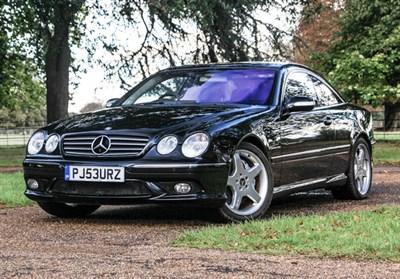 Lot 22-2003 Mercedes-Benz CL 55 AMG
