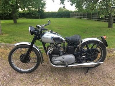 Lot 63 - 1947 Triumph 5T Speed Twin