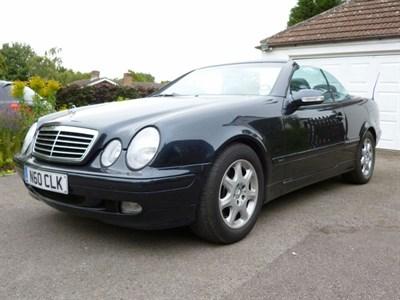 Lot 27-2000 Mercedes-Benz CLK 320 Convertible