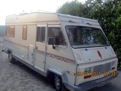 Lot 34-1987 Fiat Ducato Elddis Autoking 570CK