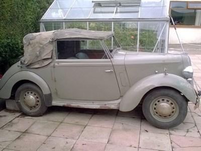 Lot 35-1939 Hillman Minx Tourer