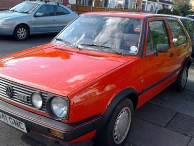 Lot 36-1986 Volkswagen Golf GTi