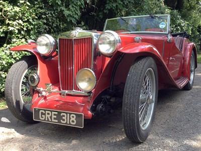 Lot 13-1938 MG TA