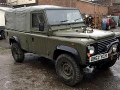 Lot 37-1987 Land Rover Defender 110