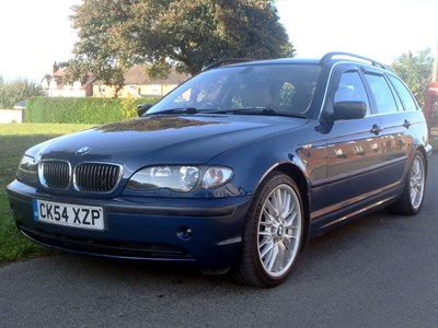 Lot 39-2004 BMW 330D SE Touring