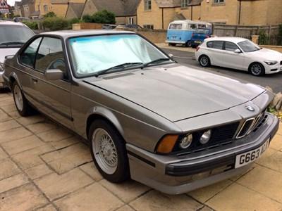 Lot 40-1990 BMW 635 CSi