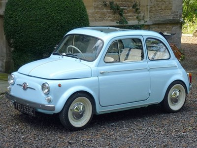 Lot 34-1965 Fiat 500 D Trasformabile