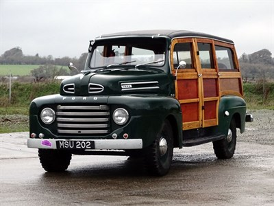 Lot 79 - c.1949 Ford F-1 V8 Woodie Estate
