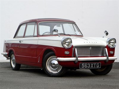 Lot 21 - 1964 Triumph Herald 12/50 Skylight Saloon