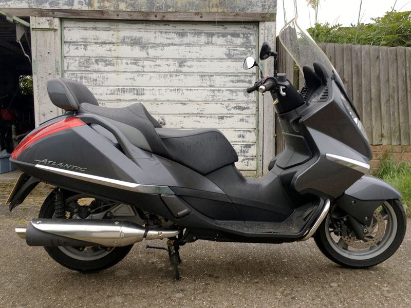Lot 1-2003 Aprilia Atlantic 500