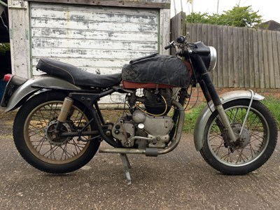 Lot 108-1960 Royal Enfield Constellation