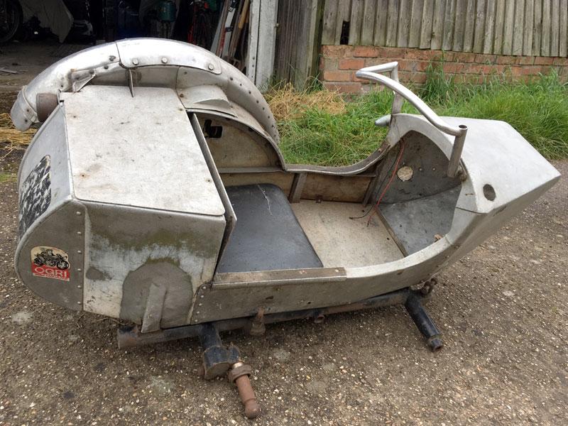 Lot 2-Trials Sidecar
