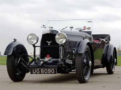 Lot 77 - 1934 Aston Martin 1.5 Litre 12/50 Long Chassis Tourer