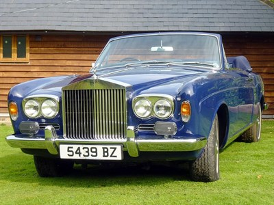 Lot 42 - 1971 Rolls-Royce Corniche Convertible