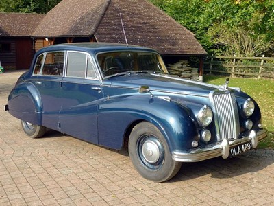 Lot 5-1953 Armstrong Siddeley Sapphire