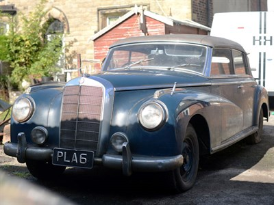 Lot 71 - 1954 Mercedes-Benz 300 B 'Adenauer' Cabriolet