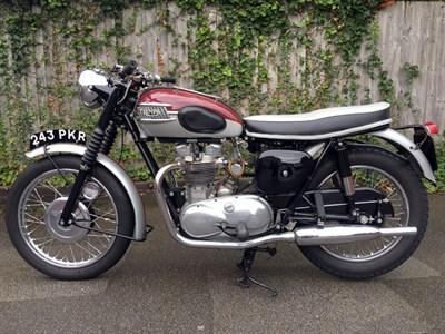 Lot 60-1961 Triumph TR6 Trophy