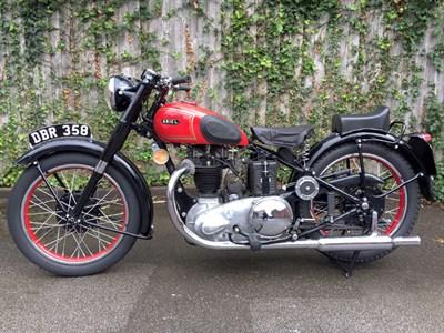 Lot 93-1953 Ariel Red Hunter