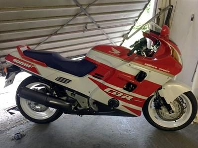 Lot 21-1991 Honda CBR1000F
