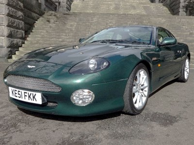 Lot 14 - 2001 Aston Martin DB7 Vantage