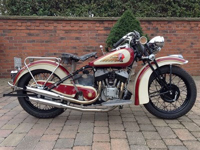 Lot 61-1941 Indian Scout 741