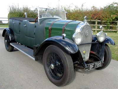 Lot 75 - 1929 Hotchkiss AM2 Tourer