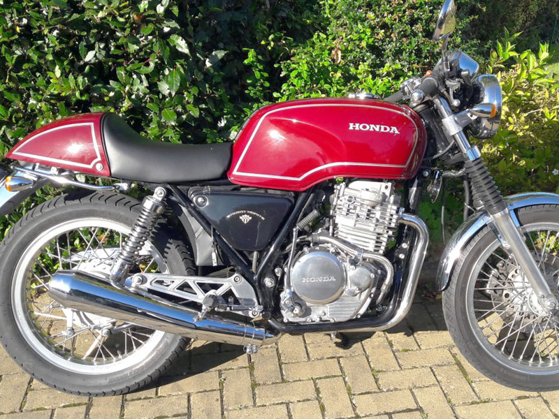Lot 28-1989 Honda GB500 TT