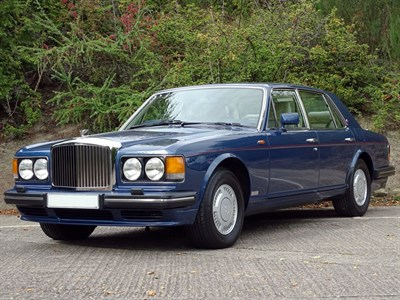 Lot 43 - 1990 Bentley Turbo R