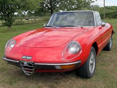 Lot 83-1976 Alfa Romeo 2000 Spider Veloce