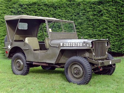 Lot 53 - 1943 Ford GPW Jeep