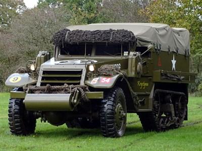 Lot 58-1943 International Harvester M5 Half-Track Personnel Carrier