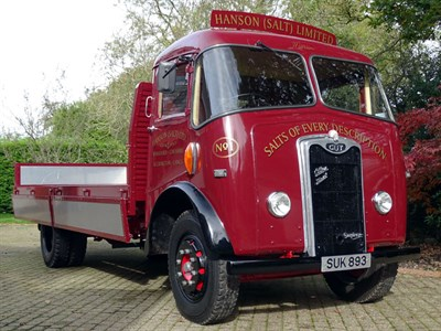 Lot 59 - 1955 Guy Otter Flat Lorry