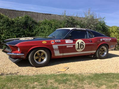 Lot 60 - 1969 Ford Mustang Bud Moore Trans-Am Tribute Car