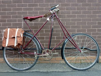 Lot 7-c1908 Dursley Pederson Bicycle